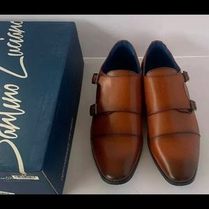 santino luciano C-462 Cognac Dress Shoe Size 12